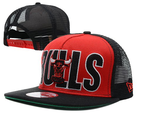 Chicago Bulls NBA Snapback Hat SD23